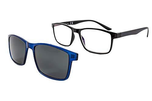 f10deababd Gafas de lectura con iman para sol - Gafas de presbicia - Vista cansada  graduadas -
