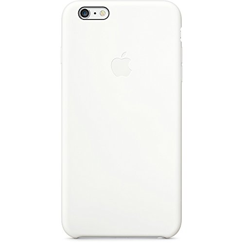 Custodia in silicone per iPhone 6 Plus/6s Plus - Bianco