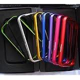 Coque Bumper Aluminium Pour Samsung Galaxy S3 I9300 - Coloris Au Choix (ROSE, ROUGE, NOIR, ARGENT) de chez SEA SEX AND SUN FR