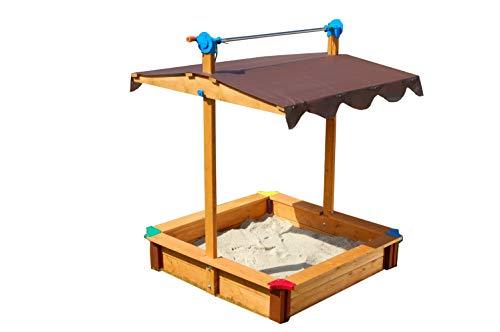 Gaspo 310436 - Sandkasten Felix mit Dachlift
