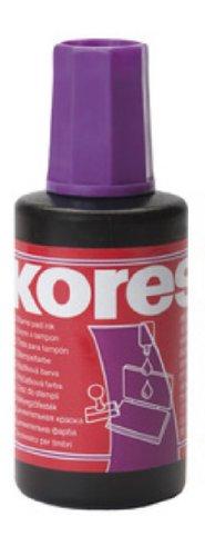 Kores Stempelfarbe, Inhalt: 27 ml, violett VE = 1