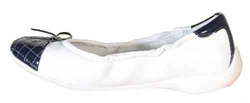 Naturino Naturino 3337 Ballerines Fille-Cuir Blanc Blanc Cassé - blanc