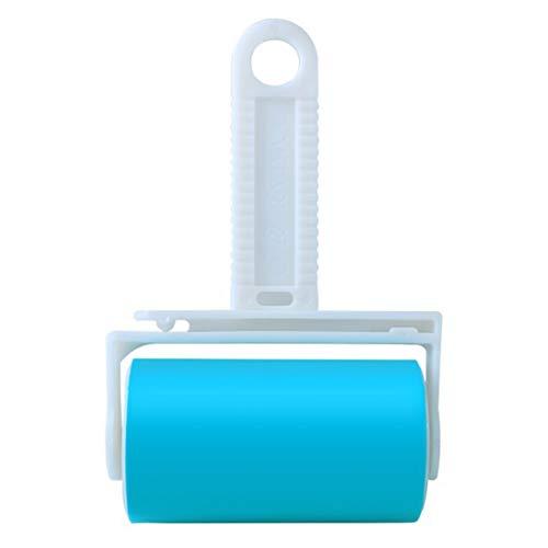 PJDDP Pet Lint Roller, Wiederverwendbare Und Waschbare Lint Roller, Pet Hair Remover Lint Roller Reiniger Für Kleidung Für Fusseln, Kleidung, Autositze Blau Extra Large,Medium -