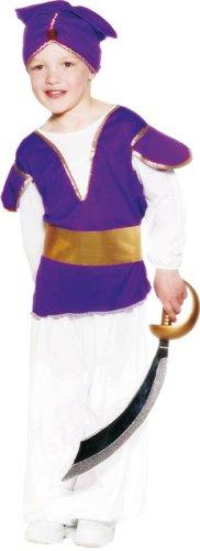 costume bambino sceicco arabo principe orientale taglia M 6/8 anni