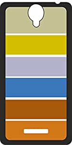 Cellmate Back Cover for micromax Q332 (Multi Color)