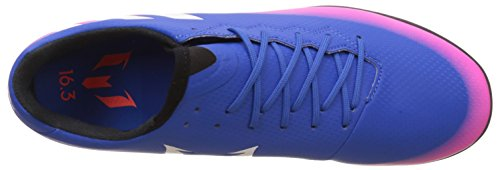 adidas Messi 16.3 Tf, Chaussures de Football Homme Multicolore (Blue/Ftwr White/Solar Orange)