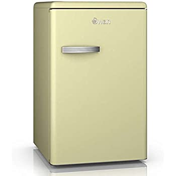 Retro Fridge With Chrome Handle Compact Undercounter 88