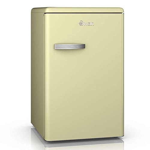 Swan Products SR11030CN Retro Larder Fridge, Cream Best Price and Cheapest