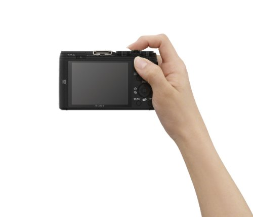 Bild 9: Sony DSC-HX60 Digitalkamera (20,4 Megapixel, 30-fach opt. Zoom, 7,5 cm (3 Zoll) LCD-Display, Exmor R CMOS Sensor, NFC/WiFi) schwarz