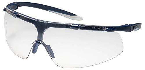 Uvex Super Fit Schutzbrille - Supravision Sapphire - Transparent/Blau