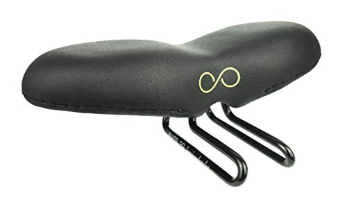 "Disfruta de la Bicicleta sellOttO-II-A21 ""Saetta"" Estilo Blando - Sillín Bicicleta cómodo..."