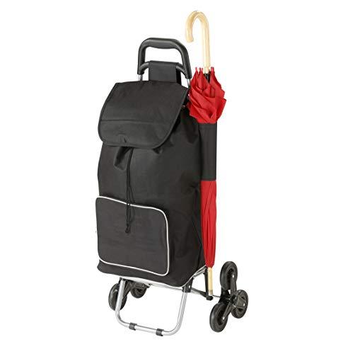 aktivshop Treppensteiger-Einkaufsroller »Cool«, 2,5 kg, belastbar bis 25 kg, klappbar