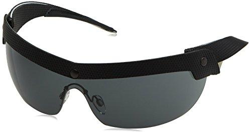 Emporio Armani Herren EA4021 Sonnenbrille, Schwarz (Black/Gold 513787), One size (Herstellergröße: 40)