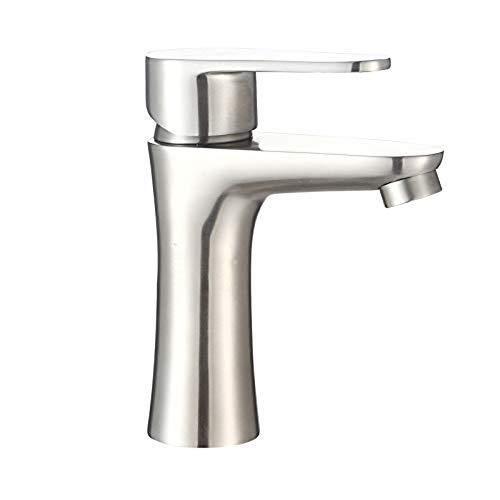 Wasserhahn Einhand Wasserhähne Küche Wasserhähne Kleine Taille Einlochmontage Edelstahl Becken Wasserhahn Heißen Und Kalten Waschbecken Wasserhahn
