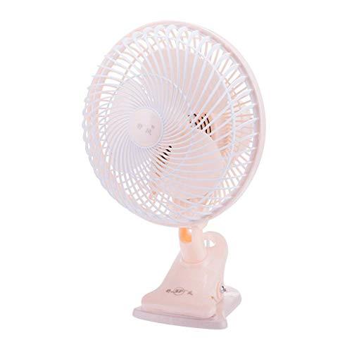 Desktop Klimaanlage Lüfter, Lüfter Desktop Personal Mobile Drehbare Lüfter Hohe Geschwindigkeit mit Clip Pitch Winkelregler für Wagen Home Outdoor Office Mini, Kejing Miao ()