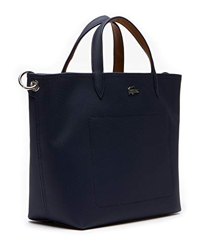Lacoste Anna Strap S Shopping Bag Peacoat Cashew
