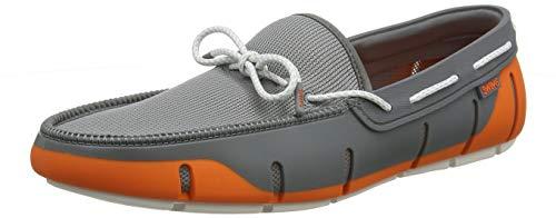 87a7c9637f0b8 Swims Stride Lace Loafer, Mocasines para Hombre, (Orange/Grey/White Fleck  585-Org/Gry/Wte FLK), 46 EU