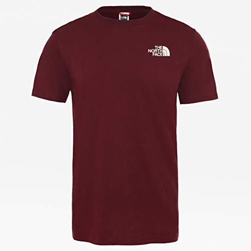 THE NORTH FACE Herren M Ss Redbox Cel Tee, Deep Garnet Red, M (Kurzarm-walking-t-shirt)