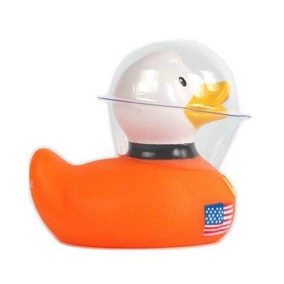 DUCKSHOP I Badeente I Quietscheente I Mini Space Duck I Quietscheentchen I L: 6,5 cm