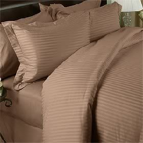 Fadendichte 1200Ägyptische Baumwolle, Bettbezug Set. Set beinhaltet 1Bettbezug und 2Kissenbezüge:/Kissen Fällen, taupe, Volle Größe (Volle Größe-jersey-bettwäsche)