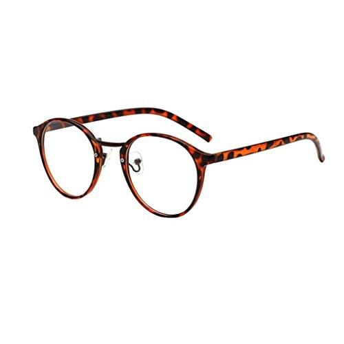 Dragon868 Katzenauge Metall Rand Rahmen Unisex Classic Metallrahmen Spiegel Abgerundete Gläser Women Sunglasses (B)
