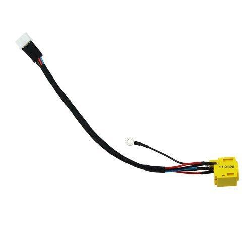 New AC DC Jack Power Plug In Ladeanschluss-Connector Buchse mit Draht Kabel Geschirr für IBM Lenovo ThinkPad SL300SL400SL500SL300C SL400C SL500C Nachbauakku 44C9986