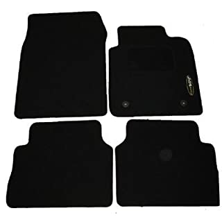 AoE Performance Tailored Car Mats, Black