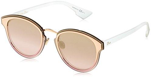 Dior Damen DIORNIGHTFALL WO 24S Sonnenbrille, Gold White/Gd Sm Pink Art, 65