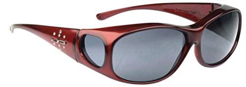 Jonathan Paul ELEMENT Überbrille - M - Oval Claret - Rot