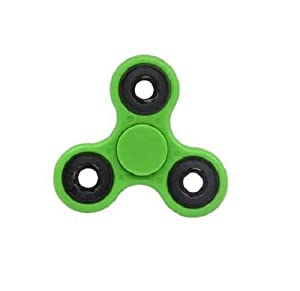 GrassVillage Fidget Hand Spinner Stress Reducer High Speed Ceramic Bearing Fidget Toy For ADD / ADHD / Anxiety and Autism Adult Children (Green)