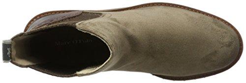 Marc O'Polo Flat Heel 70814235001312, Stivali Chelsea Donna Marrone e (Taupe)
