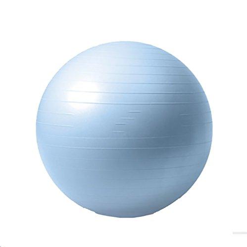 RUIX Gymnastikball (Berstsicher, Fitness-Ball, Sitzball, Yogaball, Pilates-Ball, Balance),Blue