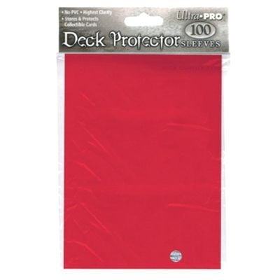 Ultra Pro - Ultra Pro 100 pochettes Deck Protectors Solid Rouge