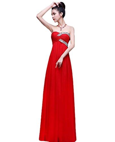 Vimans - Robe - Trapèze - Femme red