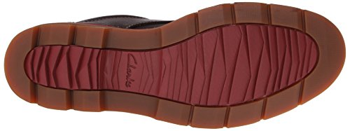 Clarks Varick gratuita di Oxford Brown Leather