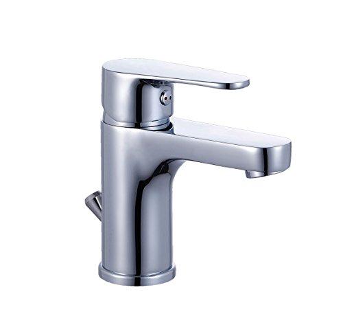 EISL ni075calcr lavabo grifo Calimero, Monomando con vaciador, cromo)