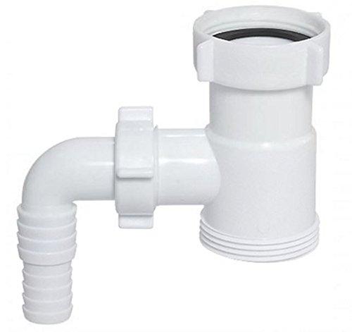 Conector extensión tubo purga drenaje 1 1/2