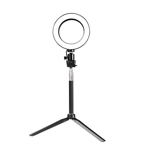 Lurrose 5 en 1 20 cm Anillo de luz Regulable Lámpara de...