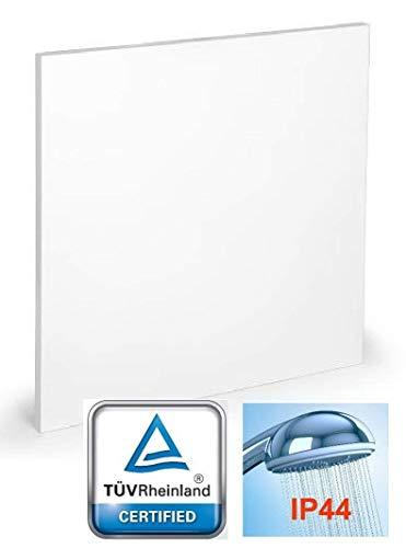 10 Jahre Garantie - TÜV Rheinland - Infrarot Heizkörper Infrarotheizung IFG-P - Freedam 350-550 - 750-950 Watt (750 Watt) Wand und Deckenmontage IP44 Produkt aus der EU