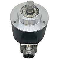 58 mm exterior 10 mm eje sólido 1000 1024 2048 2500 PPR línea de salida de controlador óptico aumento Rotary Coder