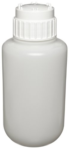 Nalgene 2125-4000 Heavy-Duty Bottle, HDPE, 4000 mL