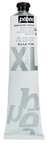 Pébéo 200046 Beaux-Arts Huile Fine Studio XL 1 Tube Blanc de Zinc Imitation 200 ml