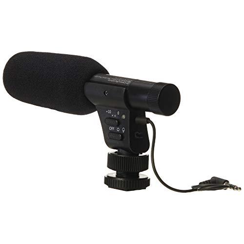AmazonBasics - LJ-OCM-002 Mikrofon zur Befestigung auf Kameras