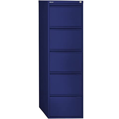 Bisley BS5E 5 151 cm Filing Drawer - Oxford Blue