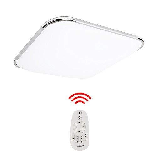 Hengda LED Deckenleuchte Moderne Esszimmer Deckenbeleuchtung Badezimmer geeignet [Energieklasse A++] (24W Dimmbar)