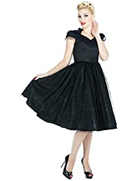Hearts & Roses EVENING Prom Vintage Tulle SWING Kleid Dress Rockabilly