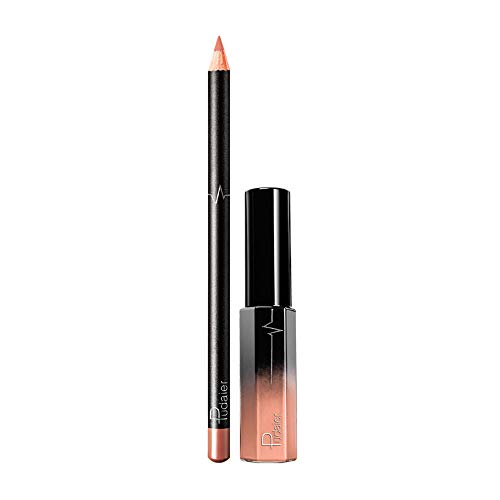 JUTOO 36 color lip lip set delineador labiosLong Last
