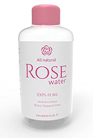 Rose Water 100% Pure from Bulgarian Rosa Damascena - 250