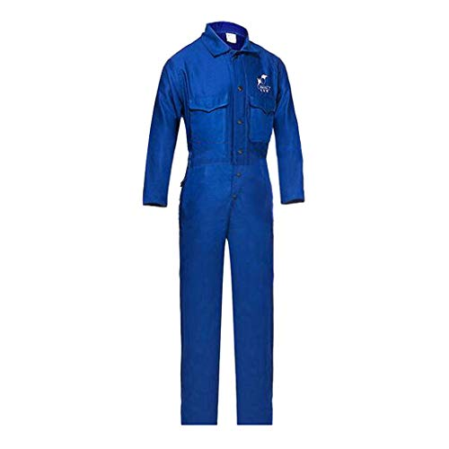 Sharplace Abbigliamento Pantaloni Tuta Da Lavoro Saldatura Ritardante Fiamma Tessuto Ignifugo - XL