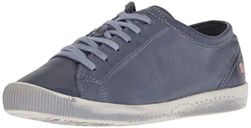 Softinos Damen ISLA Sneaker, Blau (Navy-552), 39 EU